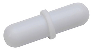 Stir Bars, Rounded with Ring 9.5mm x 38mm, pack/12