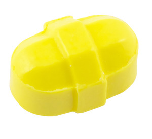 "Octagonal Stir Bars, Yellow 5/16 x 1/2"", pack/12"