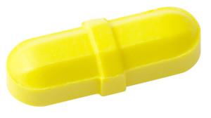 "Octagonal Stir Bars, Yellow 5/16 x 1"", pack/12"