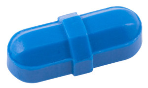 "Octagonal Stir Bars, Blue 5/16 x 7/8"", pack/12"
