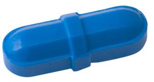 "Octagonal Stir Bars, Blue 5/16 x 1"", pack/12"