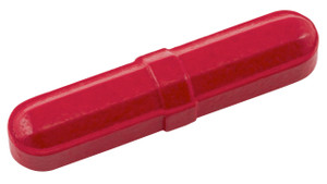 "Octagonal Stir Bars, Red 5/16 x 1-1/2"", pack/12"