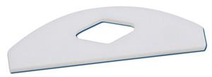 PTFE Shaft Stirrer, Square Edge Blade, 52mm