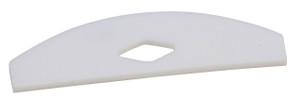 PTFE Shaft Stirrer, Square Edge Blade, 76mm