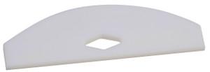 PTFE Shaft Stirrer, Square Edge Blade, 90mm