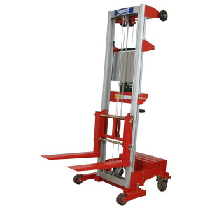 Wesco 273515 Hand Winch Lifter, Counter Balance Straddle