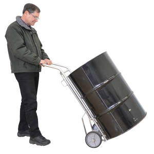 Wesco 210352 156DH Drum Hand Truck