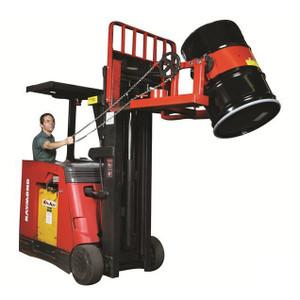 """Fork Truck Drum Lifter & Tilter DGF-55, 20.5""""H x 38""""W x 32.5""""D"""