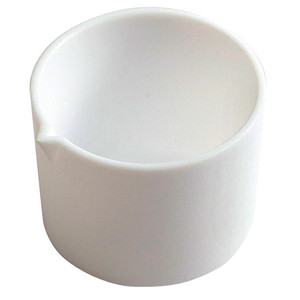 Tall Form Evaporating Dish with Spout, PTFE, 50mL
