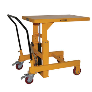 """Hydraulic Die Lift Table with foot pump and Table top size - 24"""" x 36"""""""