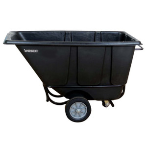 Easy to move and dump with polyurethane wheels Model 1/2 FL850B Tilt Cart