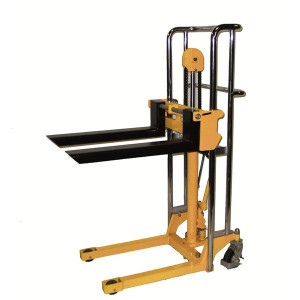 """Hydraulic Value Lift - Fork Model with Chrome Plated Rails And Handle, 22.5""""W x 55""""H x 36""""D"""