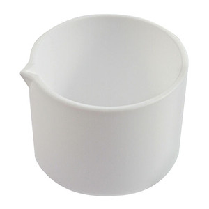 Tall Form Evaporating Dish with Spout, PTFE, 350mL