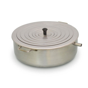 Round Water Bath,8 Inch, 14458, Stainless Concentric Ring Heating Basin