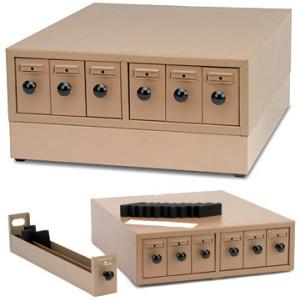 Slide Storage Cabinet Base, Modular, for Microscope slides, painted metal