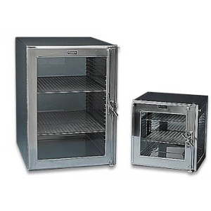 Large stainless steel shelves Desiccator