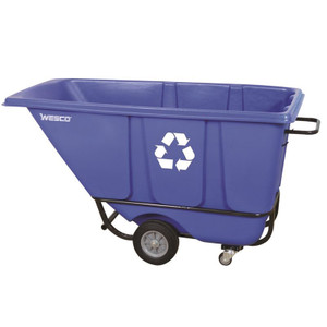 Model 1/2 S850BLRC Tilt Cart, Heavy-duty and Easy to move and dump