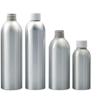 2 oz Aluminum Bullet Bottles, 24-410 White PP Foam Lined Caps, case/20