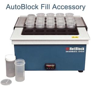 "AutoBlock Fill Accessory, 15"" x 15"" HotBlock Rail Set"