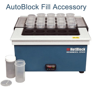 "AutoBlock Fill Accessory, 15"" x 21.5"" HotBlock Rail Set"