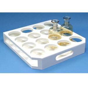 Insert for Skalar BOD Analyzer, 18-Place Rack for Disposable BOD Bottles