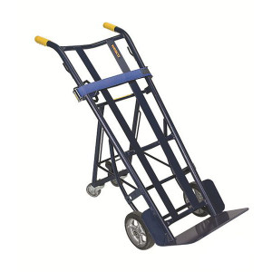 "Heavy Duty Warehouse Truck with Dual Handle, 20.5""W x 50.25""H x 22.5""D"