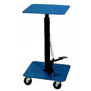 "200 lb Capacity 16"" x 16"" Standard Duty Table, 4"" Casters, 16""W x 28.5""H x 16""D"