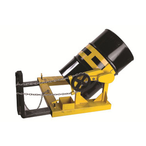 "Value Fork Truck Drum Lifter & Tilter, 19""H x 39""W x 26.75""D"