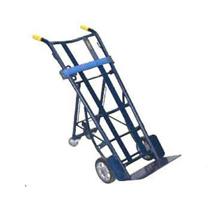 "Dual handle Heavy Duty Warehouse Truck, 20.5""W x 50.25""H x 22""D"