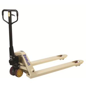 CPI Pallet  Truck, Adjustable Fork and Rubber Coated Handle