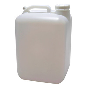 Rectangular Carboy, 5 gallon Lightweight HDPE, 63mm Cap, case/4