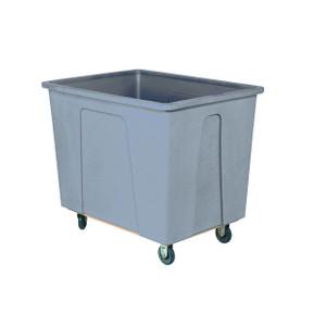 Grey Plastic Box Truck 20 Bushels, 600 Lb Capacity