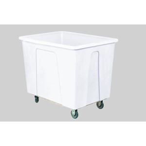 White Plastic Box Truck 20 Bushels, 600 Lb Capacity