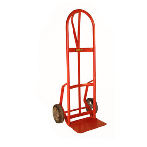 "Hand Truck with Reinforced Noseplate, Rubber Wheels, 19.625""W x 51""H x 17.5""D"