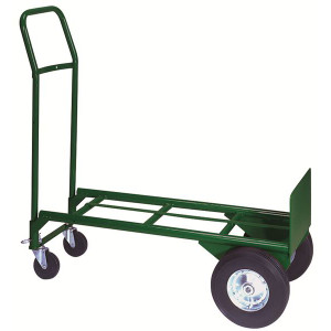 "Greenline Economical 2-in-1 Truck, Easily Converts, 20""W x 48""H x 16""D"