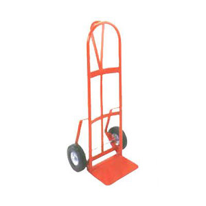 "D shaped Series 126D Industrial Duty Steel Hand Truck, 22.5""W x 46""H x 18.5""D"