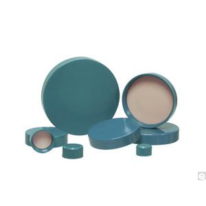 15-425 Green Urea Cap, PE Foam/PTFE Liner Packed in Bags of 100, case/500