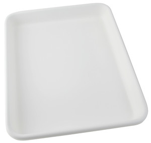 """Lab Tray, Rounded Edge with Pour Spout, HDPE, 21-3/4 x 25-3/4 x 3-1/2"""""""