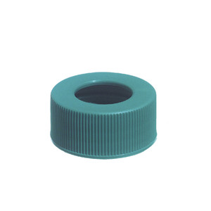 24-410 Green PP Unlined Hole Cap, Packed in bags of 144, case/576