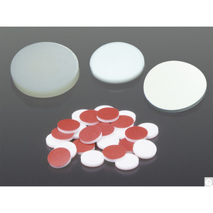 """24mm 0.125"""" PTFE/Silicone Septa Packed in bags of 100, case/100"""