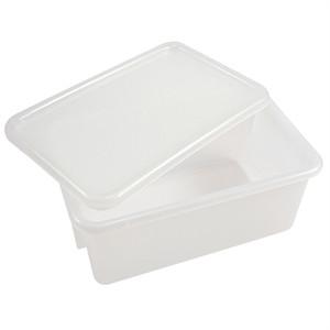 """Sterilizing Tote Boxes, Autoclavable Polypropylene, 12"""" x 8"""" x 5"""", case/6"""
