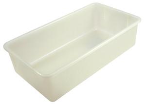 """Sterilizing Tote Boxes, Autoclavable Polypropylene, 19"""" x 10"""" x 5"""", case/6"""