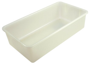 "Sterilizing Tote Boxes, Autoclavable Polypropylene, 19"" x 10"" x 5"", case/6"