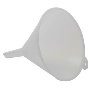 """Large Industrial Utility Funnel, 8"""" LDPE, case/6"""