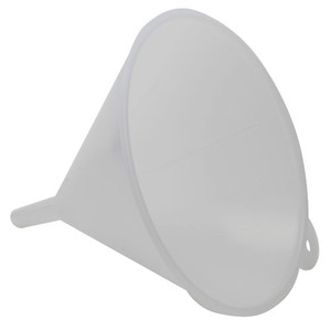 """Large Industrial Utility Funnel, 11"""" LDPE, pack/2"""