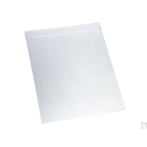 "12 x 12"" LDPE 4 MIL Clear Zip Bag, case/500"