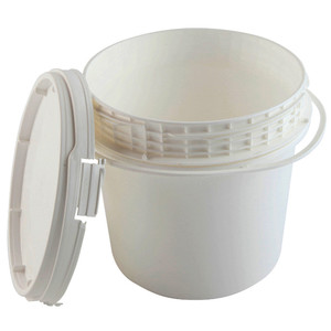 Locking Safety Pail with Screw-on Lid, EPA Compliant, 1.2 gallon, case/6