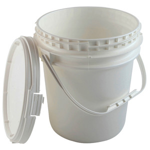 Locking Safety Pail with Screw-on Lid, EPA Compliant, 2.5 gallon, case/6