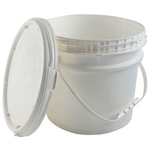 Locking Safety Pail with Screw-on Lid, EPA Compliant, 3.5 gallon, case/6