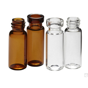 12 x 32mm 2mL Amber Vial, 8-425 neck finish, case/2000